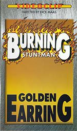 Burning stuntman